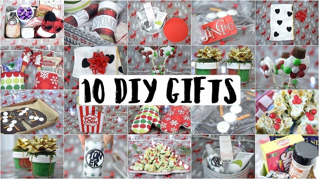 10 Diy Christmas Gifts People Actually Want Youtube