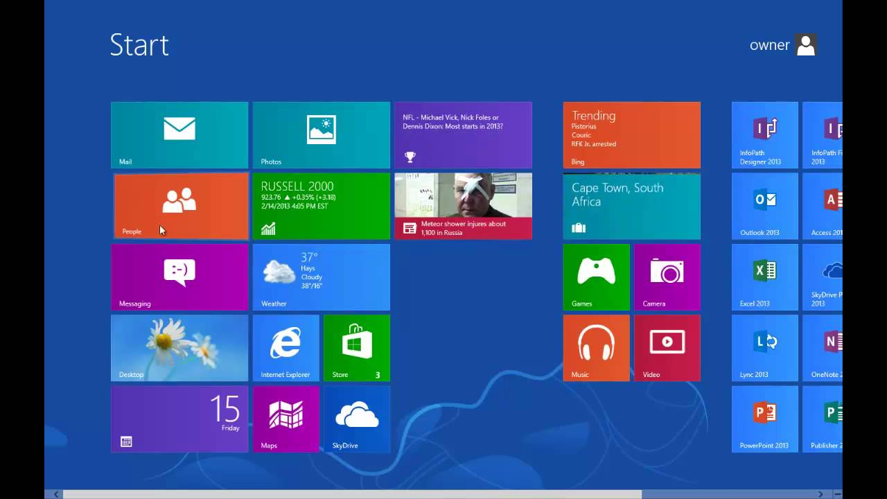 Ms windows 8 tutorial youtube.