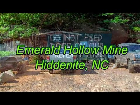 Emerald Hollow Mine Hiddenite, NC