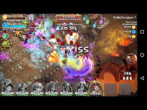 Castle Clash - Insane Dungeon 7-5