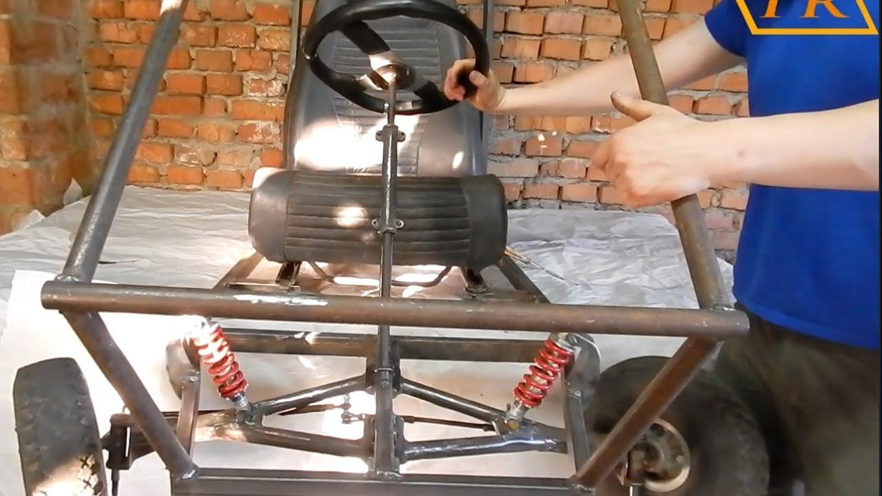 Самодельное багги-устройство рулевого управления