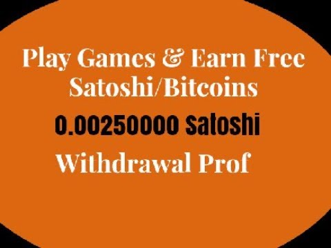 Play games to earn bitcoins for free full time betting income property