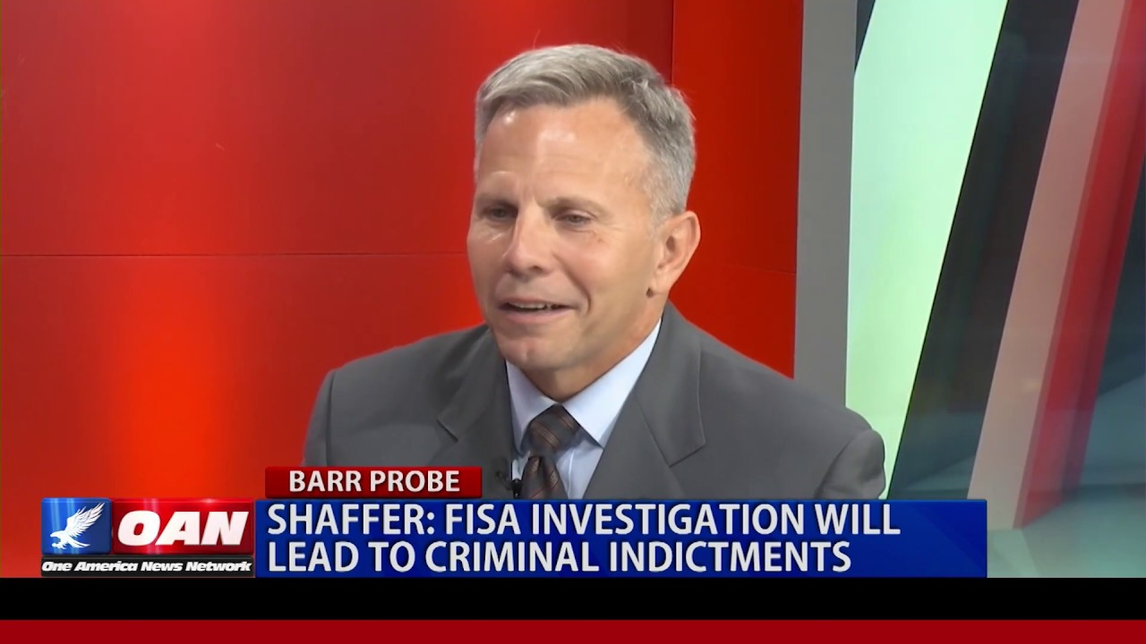 OAN Lt. Col. Tony Shaffer: FISA investigation will lead to criminal indictments