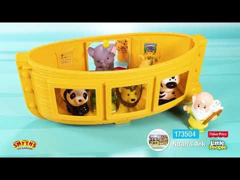 Fisher-Price Little People Noah's Ark Gift Set - Smyths Toys