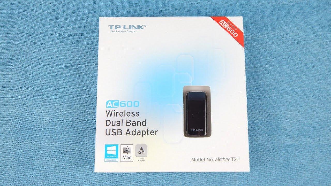 Unboxing TP Link Archer T2U wireless USB Adapter