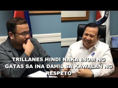 Sen. Dick Gordon pinagtawanan si Trillanes sa interview ni TP, sinabihang maglason ka