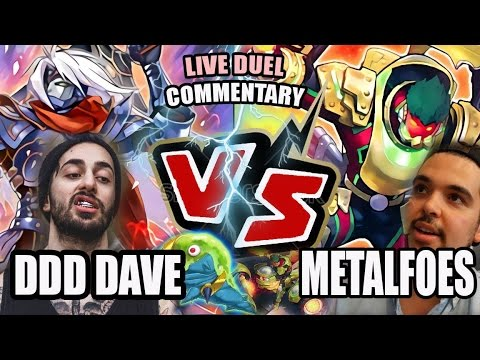 YUGIOH! LIVE DUEL! D/D/D (DAVE) vs METALFOES! CRAZY MATCH! LIVE DUEL COMMENTARY! 2017