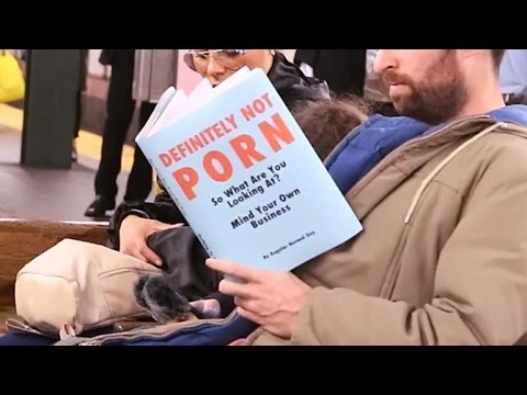 Ridiculous Fake Book Covers Make Subway Riders Do A Double Take