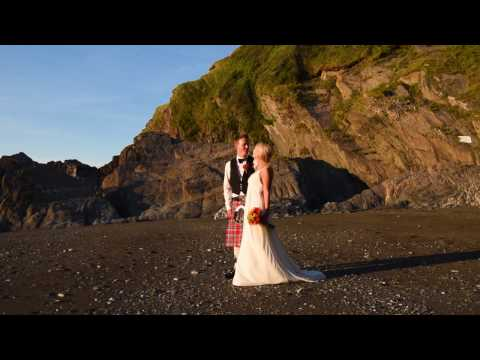 Tunnels Beaches Wedding Photography Devon