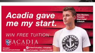 Acadia ECL Tuition Contest