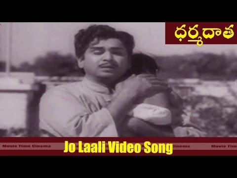 Jo Laali Video Song || Dharma Daata  Movie || ANR, Kanchana || MovieTimeCinema