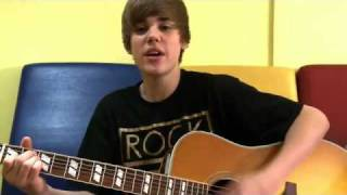 Justin Bieber - One less lonely girl French (Acoustic) EXCLUSIVE HQ