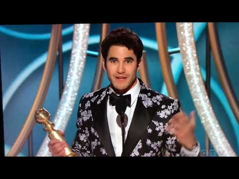 Half-Filipino actor Darren Criss wins the Golden Globe and dedicates it to his Filipino mother Mp3
