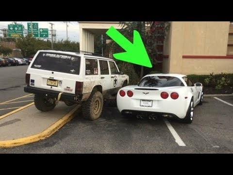25 Times Angry Drivers Took Parking Justice Too Serious