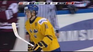 IIHF World U20 Championship 2013: Latvia - Sweden