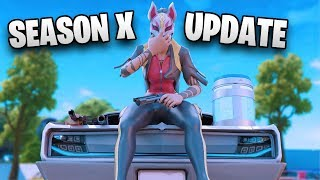 Fortnite - Season 10 out now! OG factories are back