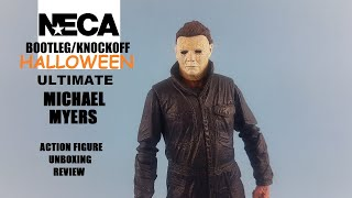 HD KO Neca Halloween ultimate Michael Myers unboxing Knock off/ bootleg