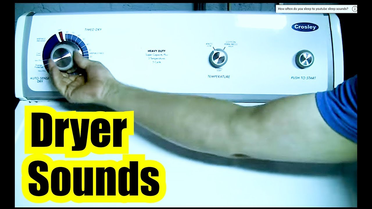 DRYER 8 Hours = RHYTHMICALLY RELAXING DRYER SOUNDS ✪ HUMMING DRYER SOUND +  BLACK SCREEN for SLEEPING