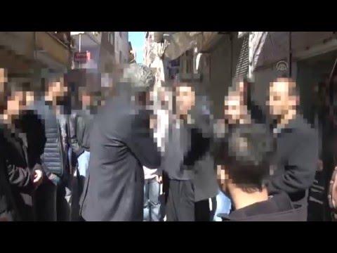 Diyarbakır'da HDP'li hendekçi Ziya Pir'e Sert Tepki