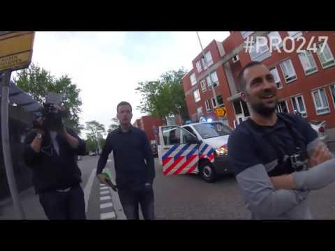 (New)Wegmisbruikers 2016 - Politie Agent lost SCHOT op DRUGSDEALER Rotterdam #DUMPERT(new)