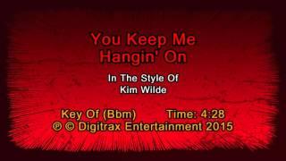 Kim Wilde - You Keep Me Hangin