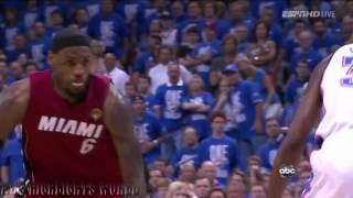 Repeat youtube video LeBron James vs Kevin Durant 2012 NBA Finals Full Series Highlights Heat vs Thunder   Amzing!!!! mp4