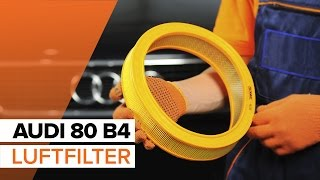 AUDI 80 (8C, B4) Bremsbelagsatz Low-Metallic auswechseln - Video-Anleitungen