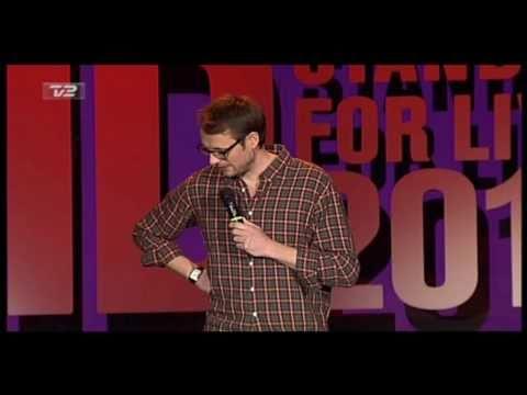 Carsten Eskelund til Comedy Aid 2010