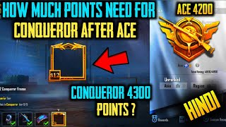 How Many Points Are Required To Reach Conqueror ? | Conqueror | PUBG Mobile | How To Push Conqueror