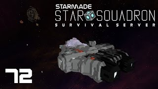 """StarMade: STAR SQUADRON - 72 - """"Station Blueprints, Thrust Update, and Cake"""""""