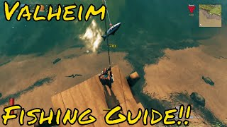 Valheim How to Fİsh Tips and Tricks!