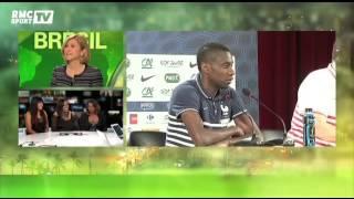 Football / Les soeurs de Matuidi sur le plateau de BFM TV - 30/06