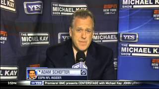 Adam Schefter talks roster moves around the NFL - The Michael Kay Show