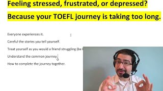 Feeling stressed out... Because of your TOEFL? How to feel confident now - Joseph from NoteFull