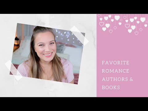 Favorite Adult Romance Authors & Books {In Love & Words}