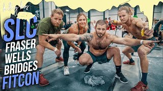 Fitcon with FRASER, WELLS, BRIDGES and LONDON GIVEAWAY Presented by WIT Fitness