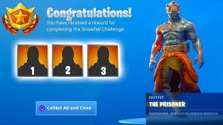 HOW TO UNLOCK ALL PRISONER TIERS IN FORTNITE! (All Tiers released so far)