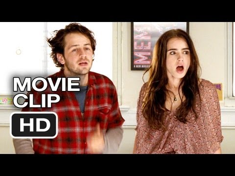 The English Teacher Movie CLIP - Surprised (2013) - Lily Collins, Julianne Moore Movie HD