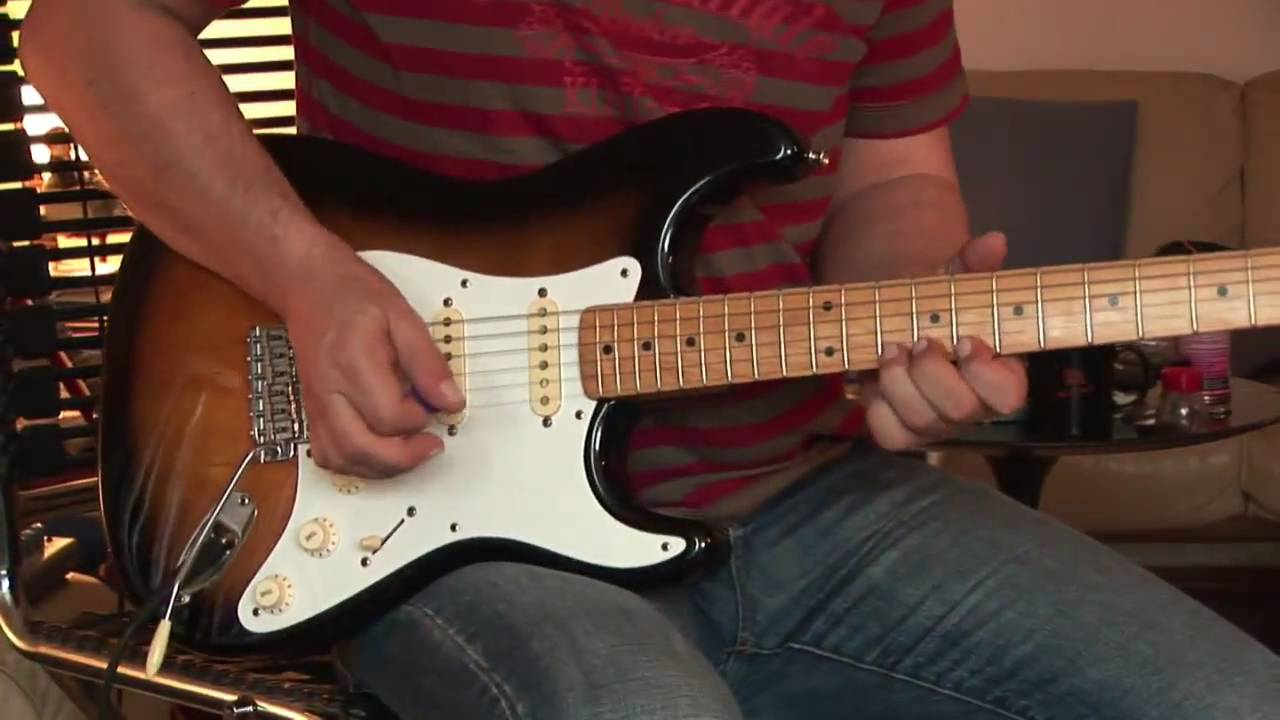Fender Stratocaster 57 Vintage Reissue Youtube
