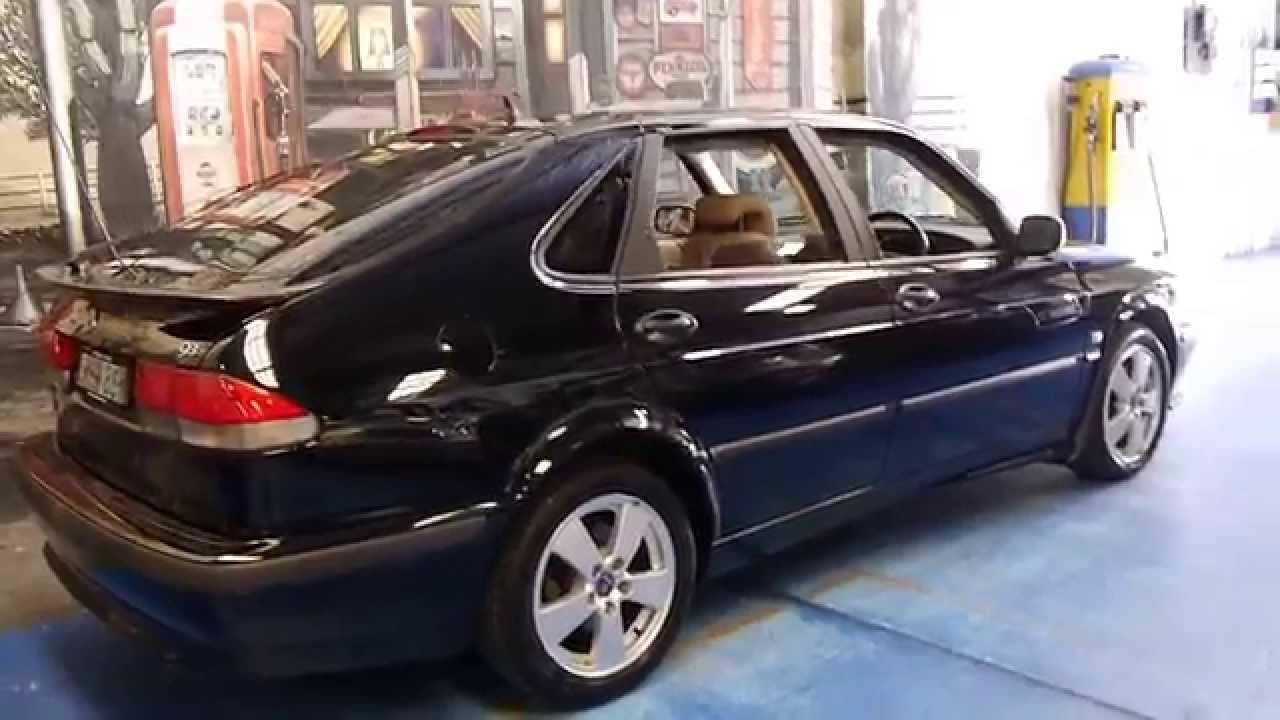 2002 Saab 9 3 Turbo Anniversary Hatch 81 000 Klms