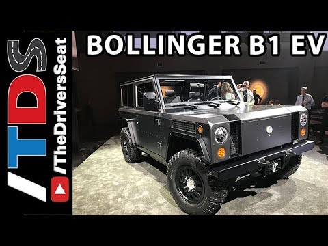 Bollinger B1 EV SUV Overview with key specifications