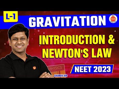 Gravitation Lecture 1 | CBSE Class 11 Physics Chapter 8 | NEET 2020-21 Exam | By Gaurav Gupta