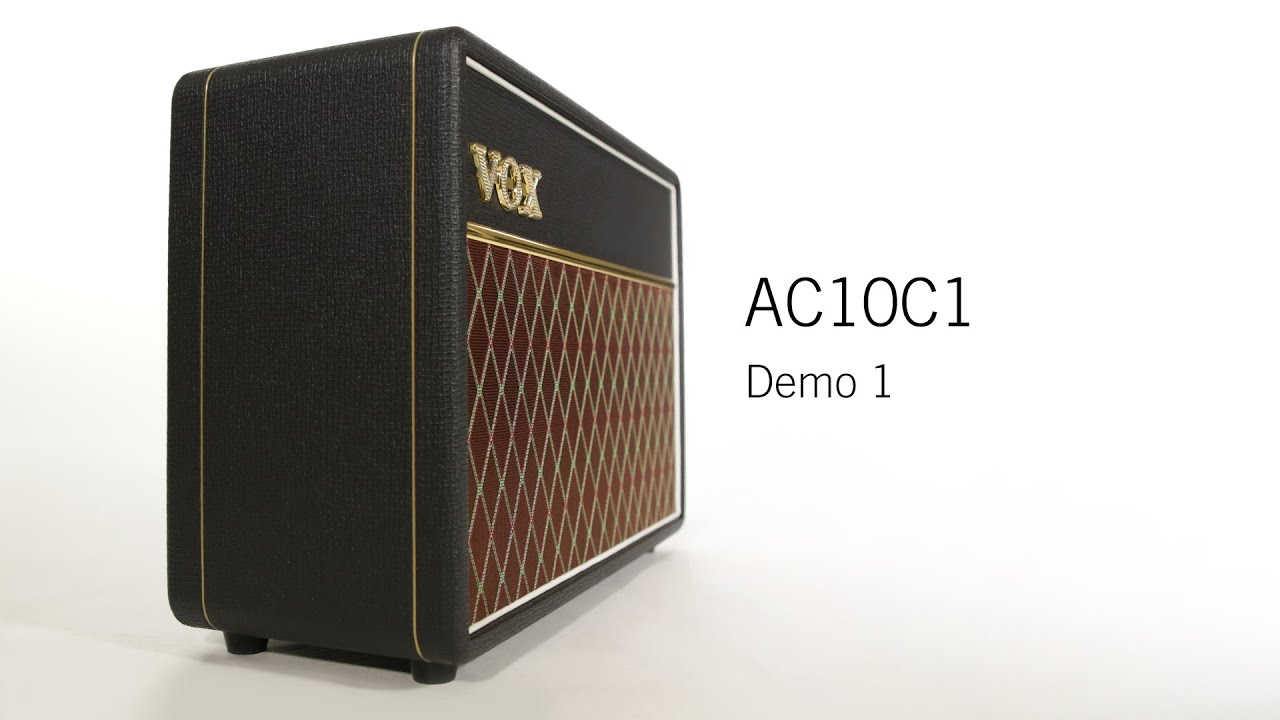 VOX Custom Series AC10C1 (Demo 1 of 2)