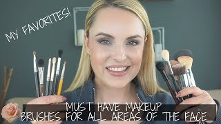 Must HAVE Makeup Brushes || My Recommendations - Elle Leary Artistry
