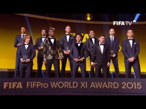 FIFA Ballon dOr 2015 Gala Highlights (01.12.2016)