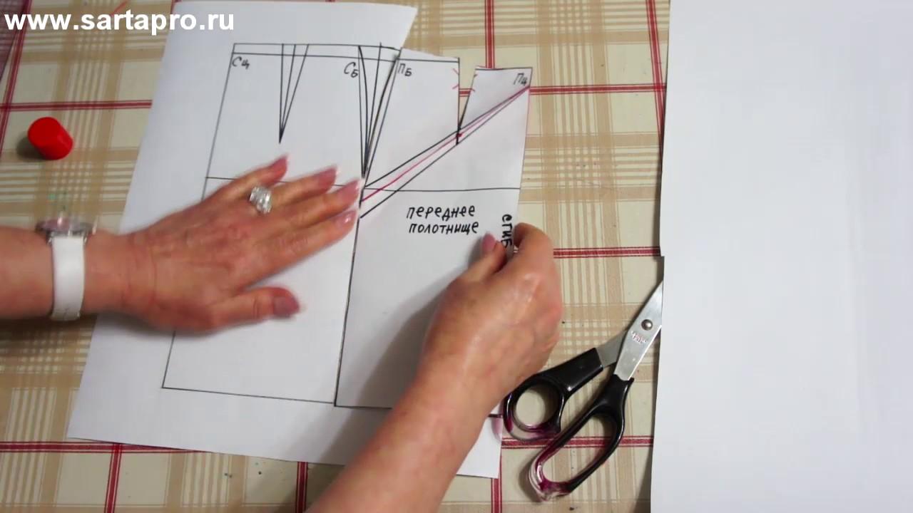 9c6c640e0d8b61e Выкройка юбки со встречной складкой сериди и сзади