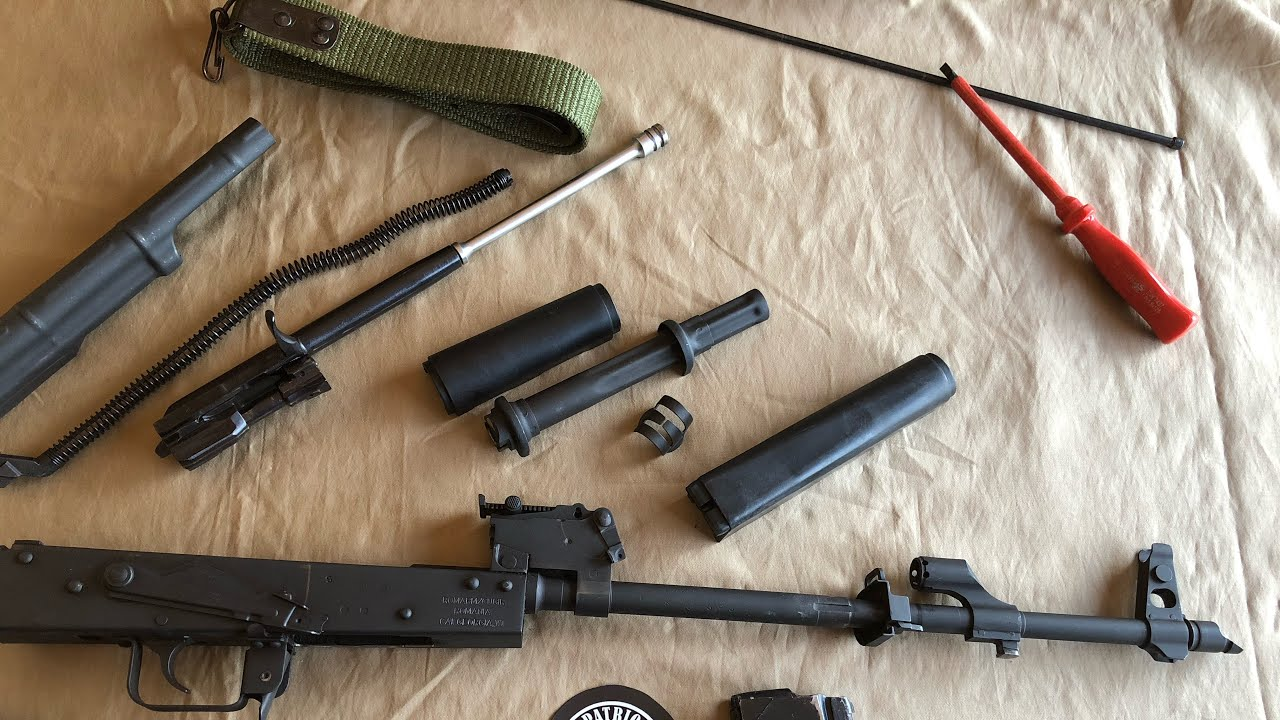 WASR 10  AK-47 Series - Part 2 Descriptive Field Strip / Complete Disassembly 101 PITD