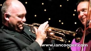 Ian Cooper Violin - Beethoven's Fifth with James Morrison - trumpet