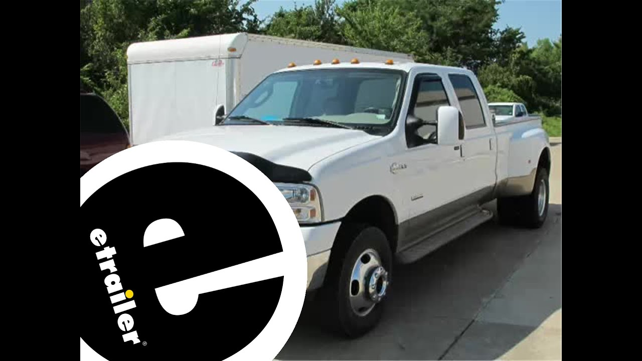 hight resolution of fifth wheel and gooseneck wiring harness installation 2006 ford f 350 etrailer com