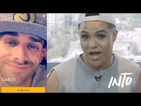 A Fem and Masc User Switch Grindr Profiles | What The Flip